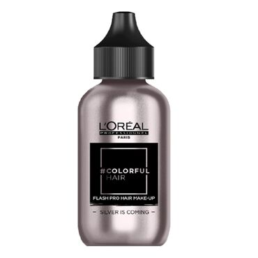 L'Oréal Professionnel #Colorfulhair Flash Pro Hair Make-Up Silver is Coming  60ml