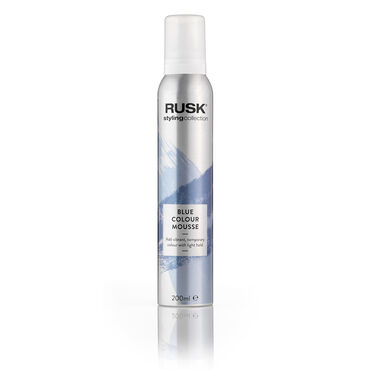 Rusk Styling Collection Colour Mousse - Blue 200ml