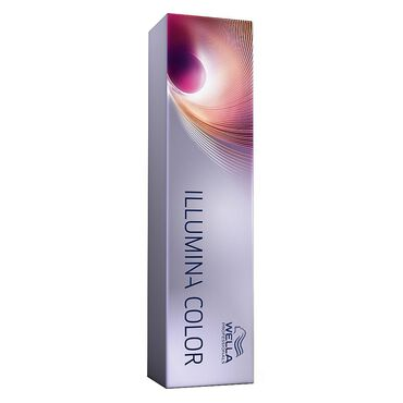 Wella Professionals Illumina Colour Tube Permanent Hair Colour - 7/81 Medium Pearl Ash Blonde 60ml