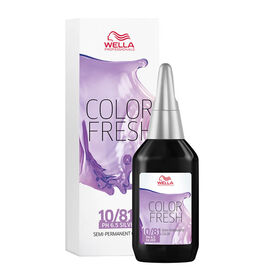 Wella Professionals Colour Fresh Semi Permanent Hair Colour - 10/81 75ml