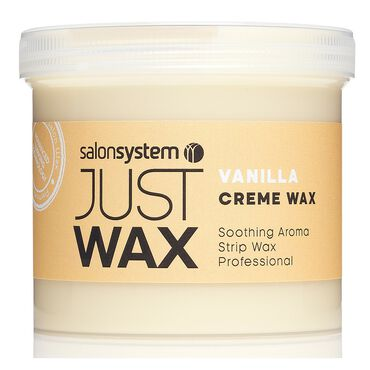 Just Wax Vanilla Crème Wax 450g