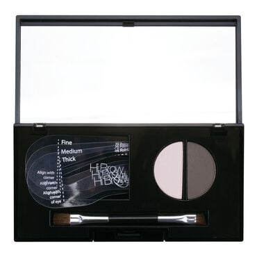 Hi Brow 24hr Brow Powder Compact Light Grey