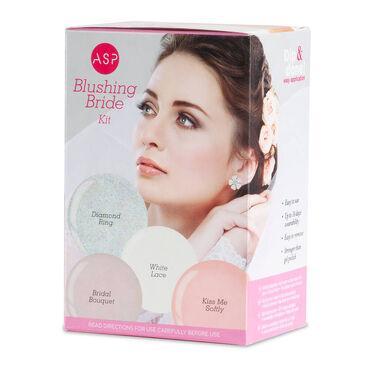 ASP Quick Dip Acrylic Dipping Powder Nail Colour - Blushing Bride Kit, Pack of 4