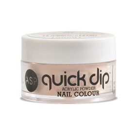 ASP Quick Dip Acrylic Dipping Powder Nail Colour - Cream Soda 14.2g