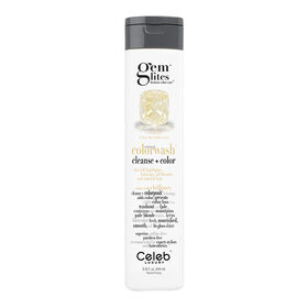 Celeb Luxury Gem Lites Semi Permanent Colourwash Shampoo Blonde - Citrine 244ml