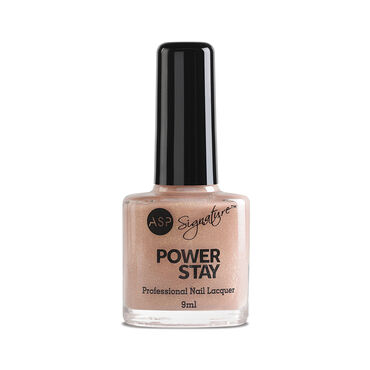ASP Power Stay Professional Nail Lacquer Peach Sorbet 9ml