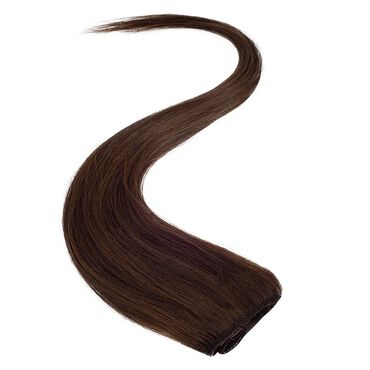 Wildest Dreams Clip In Single Weft Human Hair Extension 18 Inch - 3 Chocolate Brown