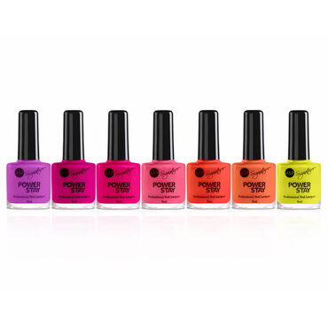 ASP Long Hot Summer Collection Power Stay Professional Nail Lacquer - Sunshine 9ml