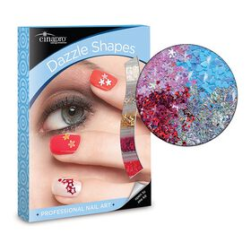 Cina Dazzle Shapes Nail Art Kit