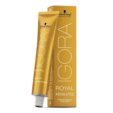 Schwarzkopf Professional Igora Royal Absolutes Permanent Hair Colour - 5-50 Light Brown Gold Natural 60ml