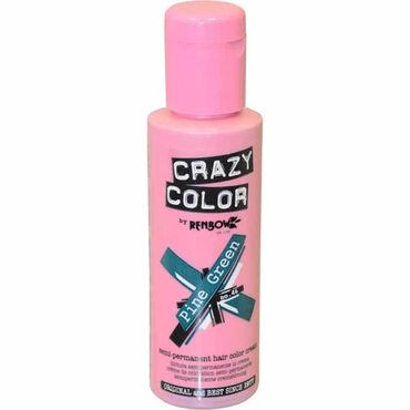 Crazy Color Crazy Color Semi Permanent Hair Colour Cream - Pine Green 100ml