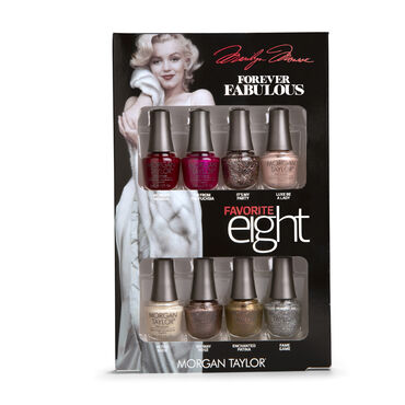 Morgan Taylor Forever Fabulous Marilyn Monroe Collection Favourite Eight Mini Pack 8 x 5ml