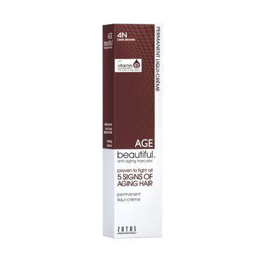 AGEbeautiful Permanent Hair Colour - 4N Dark Brown 60ml