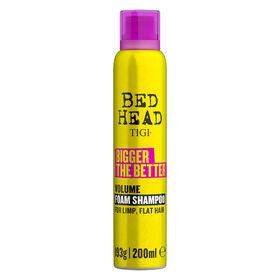 TIGI Bed Head Bigger the Better Foam Shampoo 200ml