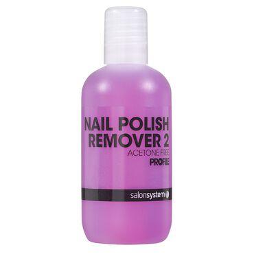 Salon System Polish Remover Non Acetone 125ml