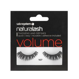 Naturalash 107 Black Strip Lashes
