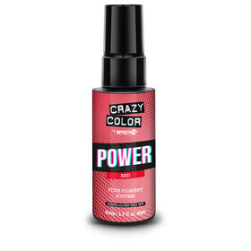 Crazy Color Power Pure Pigment Drops, Red, 50ml