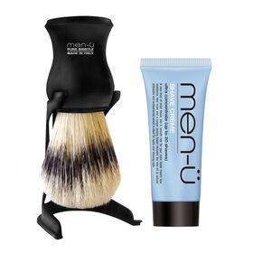Men-U Pure Bristle Shaving Brush