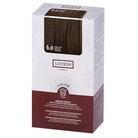 Lucens Permanent Hair Colour Kit 6.0 Dark Blond