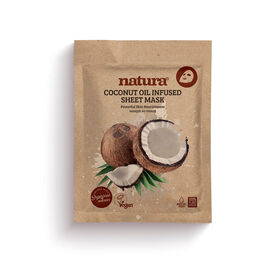 Natura Coconut Oil Infused Sheet Mask 22ml