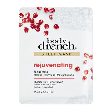 Body Drench Rejuvenating Sheet Facial Mask 25 ml