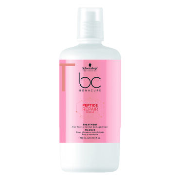Schwarzkopf Professional Bonacure Peptide Hair Repair Rescue Treatment 750ml