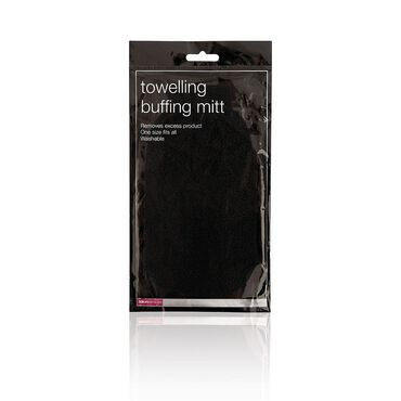 Salon Services Towelling Buffing Mitt