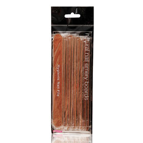 Salon Services Natural Emery Board 180/180 Pack of 10