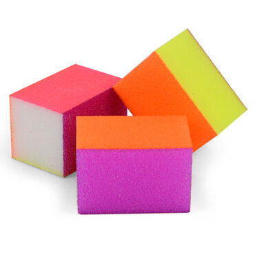 Block On Mini Buffing Blocks, Pack of 8