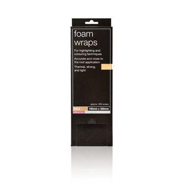 Salon Services Colour Foam Wraps Gold Pack of 200