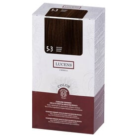 Lucens Permanent Hair Colour Kit 5.3 Chocolate
