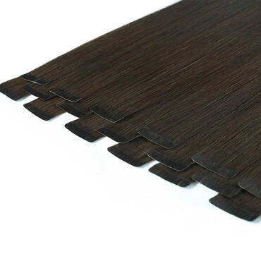 Beauty Works Celebrity Choice Slim Line Tape Hair Extensions 20 Inch - Smoke 48g