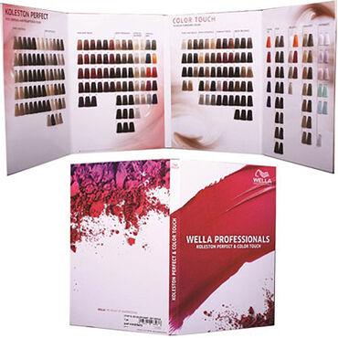 Wella Koleston Colour Chart Color Touch Shade Chart