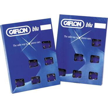 Caflon Regular White Metal April Piercing Stud 12 pair pack