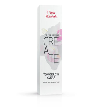 Wella Professionals Color Fresh Create Semi Permanent Hair Colour - Tomorrow Clear 60ml
