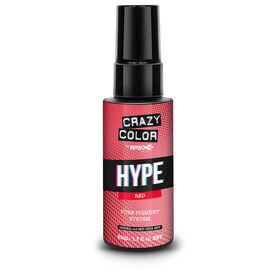 Crazy Color Hyper Pure Pigment Drops, Red, 50ml