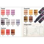 Indola Color Style Mousse Colour Chart