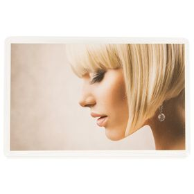 Salon Services Appointment Card Hair Blonde