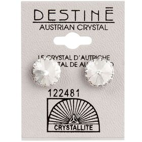 Crystallite Extra Large Rivoli Ear Studs 11mm
