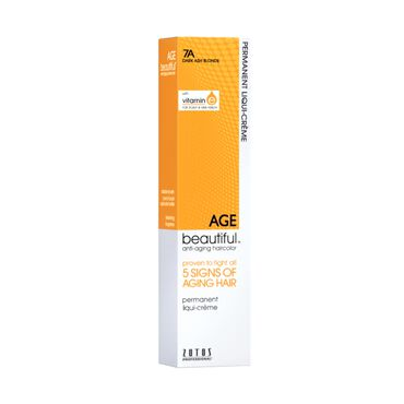 AGEbeautiful Permanent Hair Colour - 7A Dark Ash Blonde 60ml