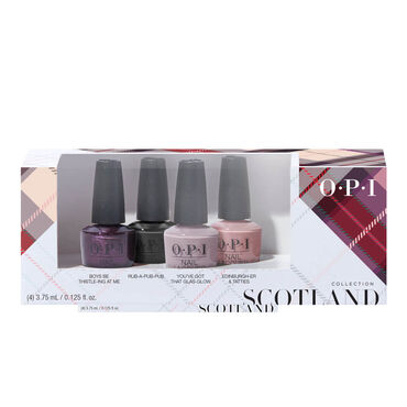 OPI Scotland Collection Nail Lacquer Mini 4 Pack