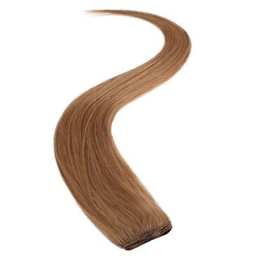 Wildest Dreams Clip In Single Weft Human Hair Extension 18 Inch - 27S Warm Blonde