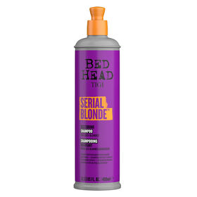 TIGI Bed Head Serial Blonde Purple Toning Shampoo 400ml