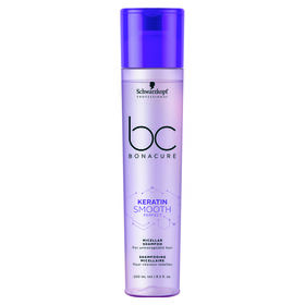 Schwarzkopf Professional Bonacure Keratin Perfect Smooth Micellar Shampoo 250ml