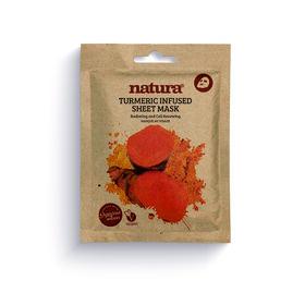Natura Turmeric Infused Sheet Mask 25ml