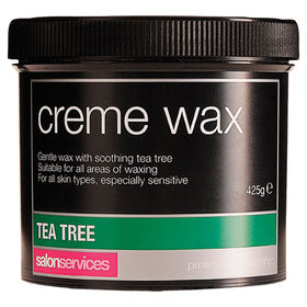 * Salon Services Crème Wax Tea Tree 425g