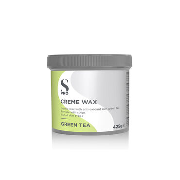 S-PRO Green Tea Creme Wax Pot, 425g