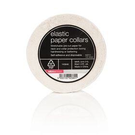 Salon Services Elastic Paper Collars 100 strips