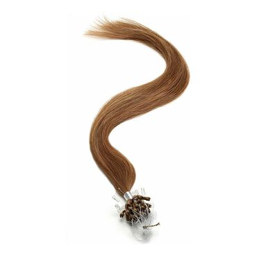 American Pride Micro Ring Human Hair Extension 18 Inch - 5B Hazel Brown