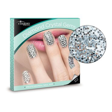 Cina Diamond Crystal Gems 1440 Nail Art Pack